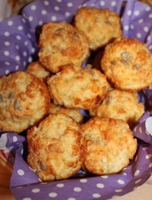 Käsemuffins